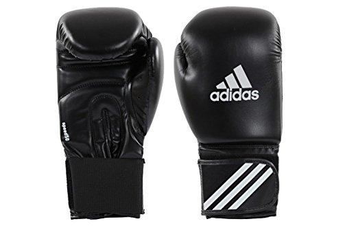 Adidas® Boxhandschuhe Speed 50 schwarz/weiß, 12 Unzen, Box-Handschuhe, Boxhandschuh Glover, Leder