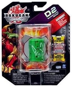 Bakugan Gundalian Invaders BakuBoost - D2 BakuDouble-Strike - Ventus DARTAAK (Green)