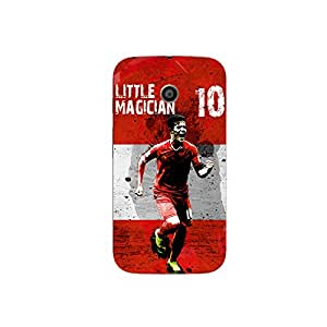 ezyPRNT Skin Sticker for Motorola Moto E Philippe Coutinho Football Player