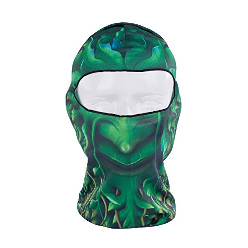 Naldesa Schädel Totenkopf Ski Maske Halstuch Sturmhaube Motorrad Maske Skull Bike Snowboard Balaclava Gesichtsmaske