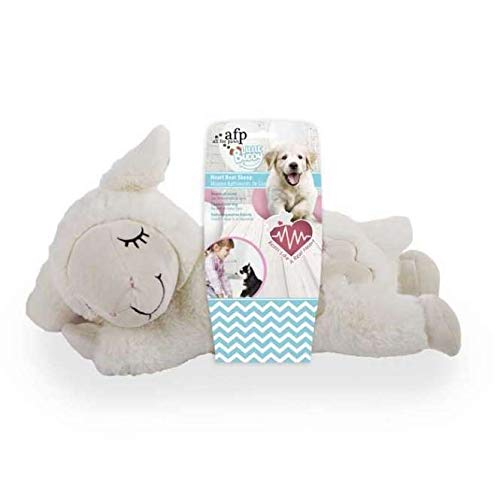 ALL FOR PAWS AFP Little Buddy – Heart Beat Sheep White