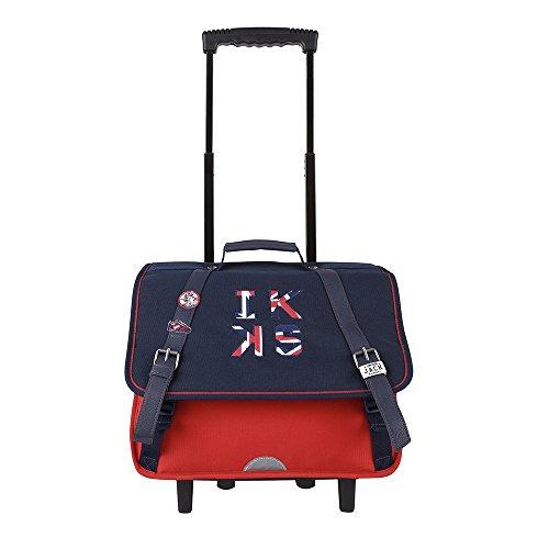 Trolley 38 Rouge IKKS Union Jack Russel