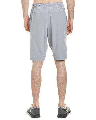 Men's N.E.T Nike-Pantaloni da uomo, 28 cm, tessuto) Stadium Grey/White