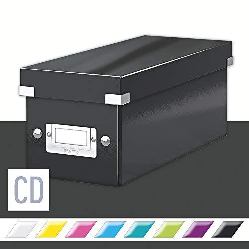 Leitz Click & Store CD Aufbewahrungsbox, Schwarz, 60410095