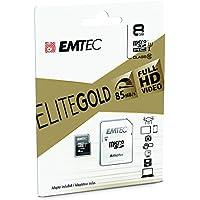 Emtec Mini Jumbo Extra - Tarjeta micro SDHC de 8 GB