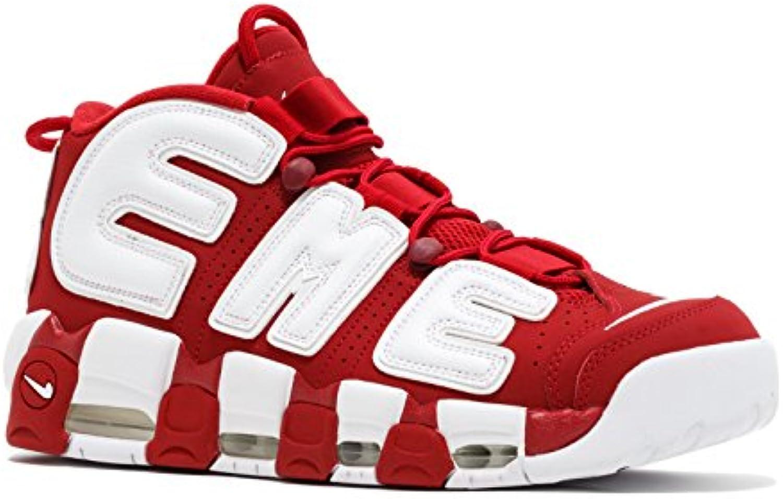 Air More Uptempo Supreme Varsity Red White Zapatillas de Baloncesto para Hombre  -