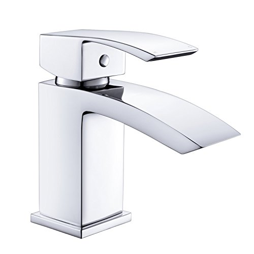uuhome | bagno moderno rubinetto lavabo Miscelatore per lavabo cromato TE04
