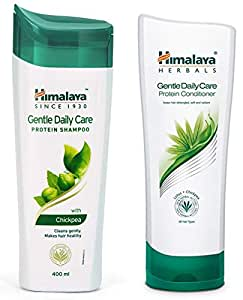 Himalaya Herbals Protein Shampoo, Gentle Daily Care, 400ml & Herbals Protein Conditioner, 200ml Combo