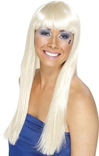 Blonde Dancing Queen Wig for Agnetha ABBA dress up