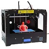 CTC 3D Desktop 3D Drucker Kits, hochpräzise Auto-Assembling, Desktop 3D Drucker Unterstützung SD-Karte enthalten 1x 1.75mm ABS/PLA Filament ((225 x 145 x 150 mm))