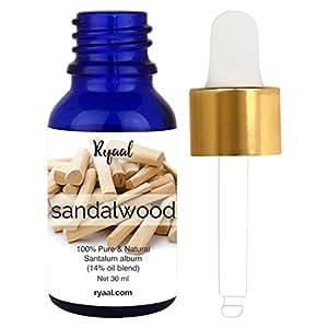 Ryaal Sandalwood Essential Oil, 100% Pure, Undiluted, Therapeutic Grade Sandalwood Oil By Ryaal – (30 ML)