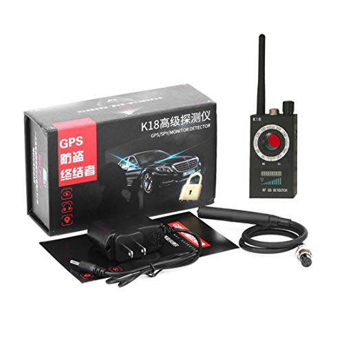 Features:. Multi function detectable pin hole camera and other detect wireless products.. Detectable RF frequency from 1MHz to 6.5GHz for all FR frequency include GSM, WIFI BT, FM, VHF, UHF, 900 / 1200 / 2400 wireless audio and video transmission fre...