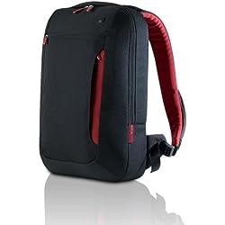 Belkin Active Pro - Mochila para Ordenador portátil de 17'', Negro/Rojo