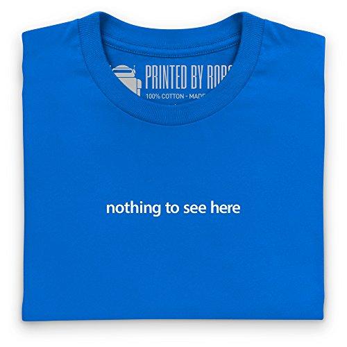 Nothing To See Here T-Shirt, Damen Royalblau