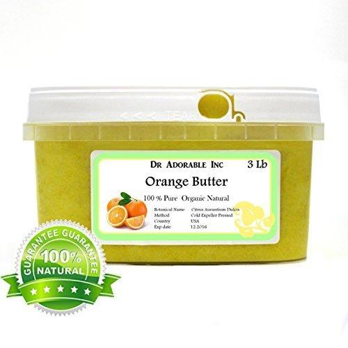 Orange Butter Organic 100% Pure 48 Oz