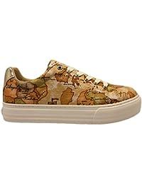 ALVIERO MARTINI 1a Classe 00082 0034515 Beige Sneakers Scarpe Donna Comode c875b008455