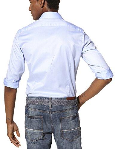 Celio Herren Slim Fit Businesshemd Blau (Bleu Ciel)