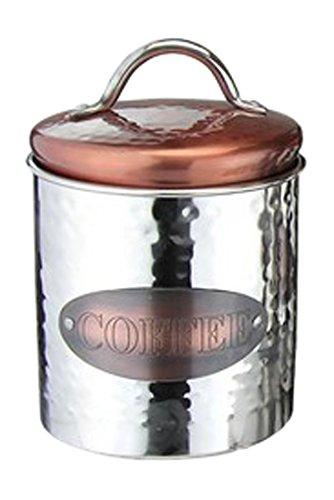 Apollo Kaffeebehälter, Edelstahl, Kupfer- / Silberfarben