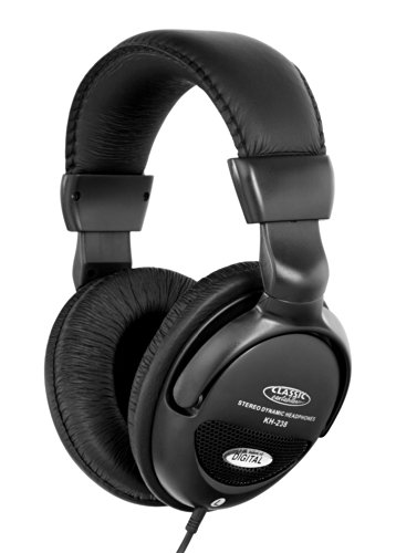 Classic cantabile kh-238 cuffie stereo, nero