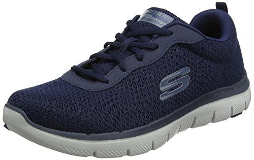 Skechers Herren Flex Advantage 2.0 - Dayshow Sneaker, Blau (Navy), 44 EU - Pure Advantage Air