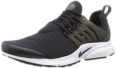 Nike W Air Presto, Chaussures de Sport Femme, Noir / Noir-Blanc, 39 EU