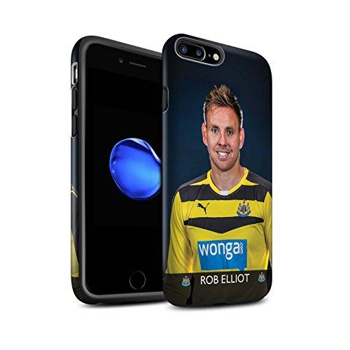 Offiziell Newcastle United FC Hülle / Matte Harten Stoßfest Case für Apple iPhone 7 Plus / Ayoze Muster / NUFC Fussballspieler 15/16 Kollektion Elliot