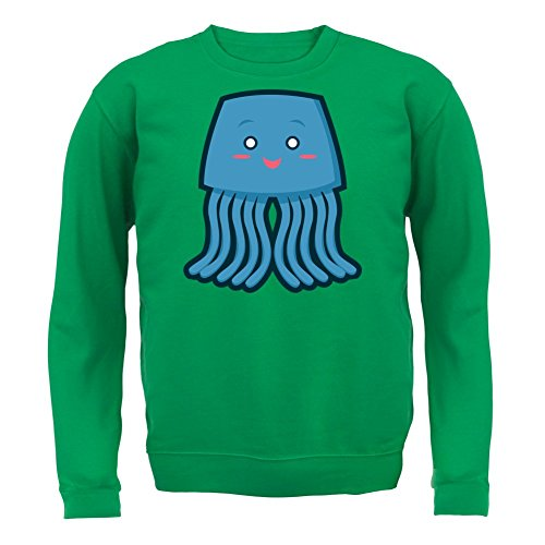 Cute Whale - Unisex Pullover/Sweatshirt - 8 Farben Grün