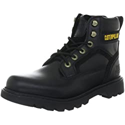 Cat Footwear STICKSHIFT P712702 - Botas de cuero para hombre, color negro, talla 43