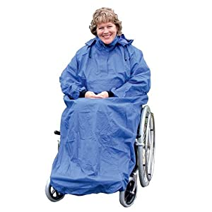 Kozee Komforts Waterproof Coverall with Sleeves Total Protection for Wheelchair Users