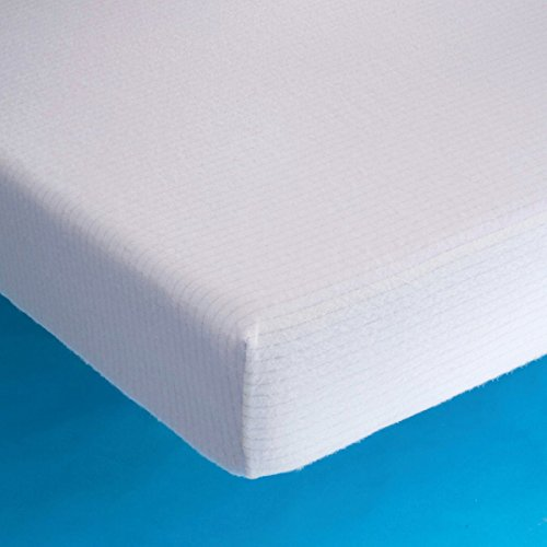 la-redoute-interieurs-stretch-cotton-jersey-mattress-protector-white-size-80
