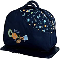 CHINMAY KIDS® Baby Mother Bag with Holder Diaper Changing Multi Compartment for Baby Care and Maternity Handbag (Dark Blue)