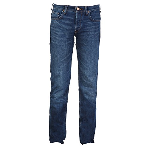 Lee Powell - Jeans à coupe cintrée - Homme Bleu