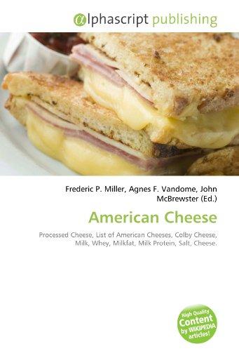 American Cheese por Frederic P Miller