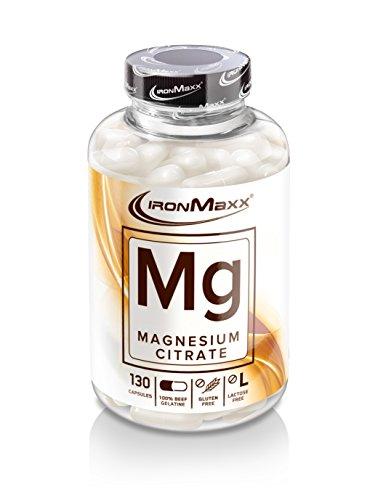 #Ironmaxx Mg-Magnesium- 130 Kapseln#