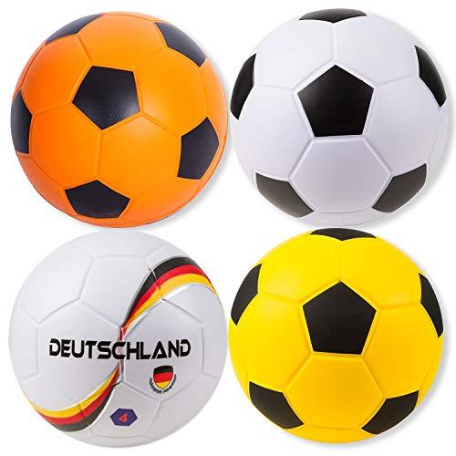 Sport-Thieme Soft-Fußball | Sehr gut Springender Indoor u. Outdoor Schaumstoff-Fußball | In Vier Designs | PU-Beschichtung| ø 200 mm | 300 g | Markenqualität