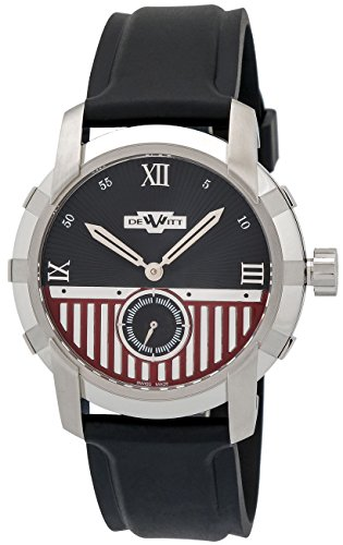 Dewitt Glorious Knight Automatic Stainless Steel Mens Strap Watch...