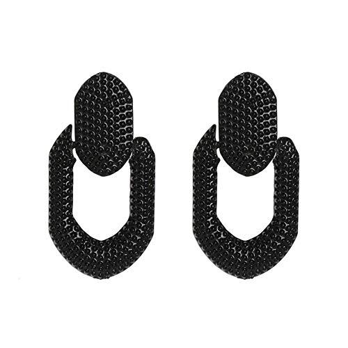 Z&HA Frauen Ohrringe Original Design Geometrie Essigsäure Platte baumeln Ohrringe rosa für Mädchen Schmuck,02