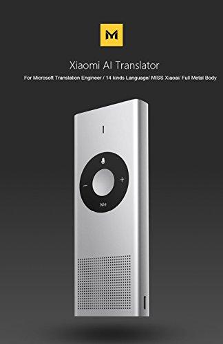 Smart Übersetzer Sprachübersetzer mit Spracheingabe und Sprachausgabe Simultanübersetzung Translator Bluetooth 4.2 Reiseübersetzer