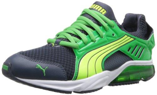 Puma Powertech Blaze Met Nm Laufschuh Ombre Blue / Island Green / Fluorescent Yellow