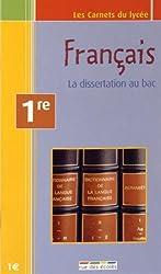 Français 1e : La dissertation au bac