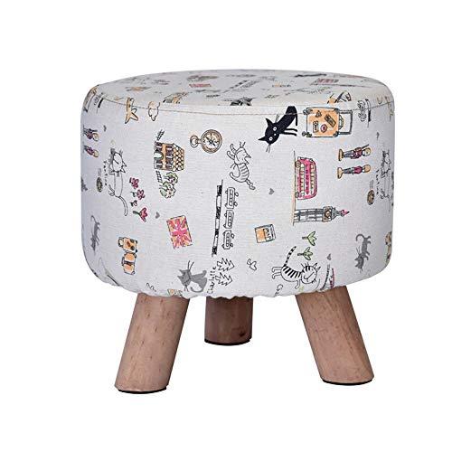 Paddia poltrona per bambini poltrona divano sgabello per bambini toddlers childs divano per sedili soft poggiapiedi poggiapiedi sgabello quadrato per divani in tessuto panca moderna con rivestimento l