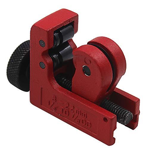 ETbotu Mini-Rohrschneider für Rohre und Rohrleitungen, Aluminium/Eisen / Metall
