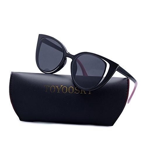 Fashion Retro 80s (Katzenauge Hohlrahmen Flash Lens Sonnenbrillen für Frauen Vintage-Stil 80s Retro Design für Damen)