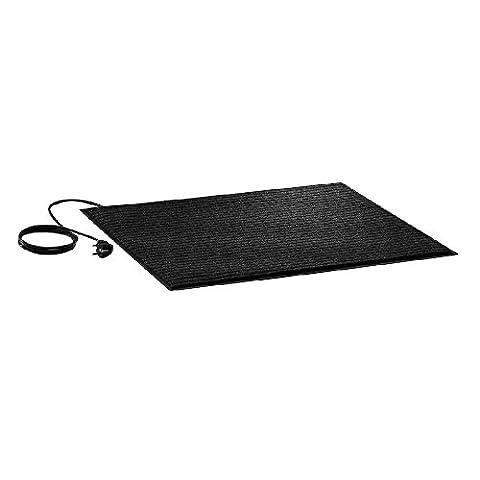 AEG TBF 90 Heizteppich, 90 Watt Heizmatte für fußkalte Bereiche, 90x 60x 0,6cm, Teppichbodenbelag, grau, 234 (Deutscher Weihnachtsmarkt-buden)