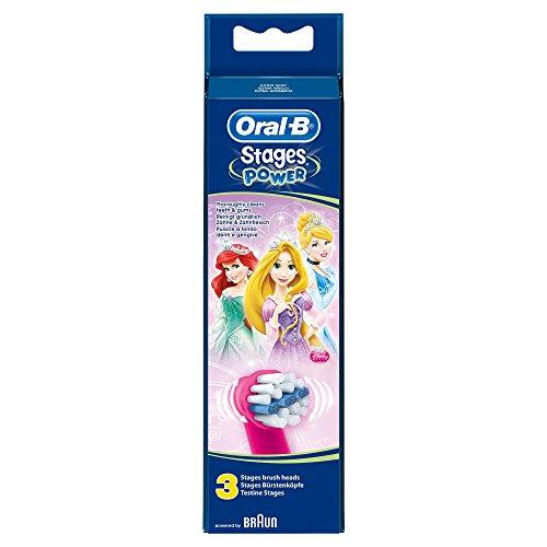 Oral-B Stages Power - Cabezal de recambio de los personajes Disney - 3 unidades