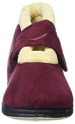 Padders, Pantofole donna Rosso Borgogna Rosso (rosso)