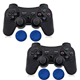 Contrôleur PS3 sans fil à double choc pour Playstation 3 avec câble de charge Noir...