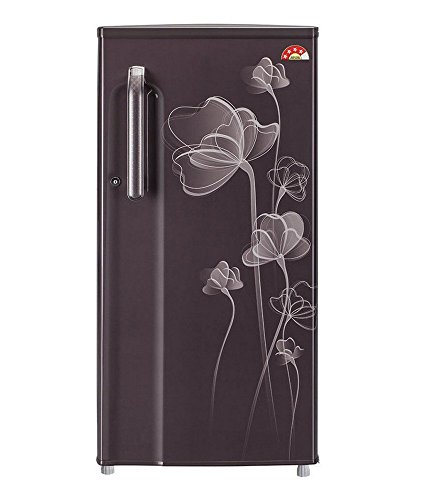 LG 188 L 4 Star Direct-Cool Single Door Refrigerator (GL-B191XGHP, Graphite Heart)  available at amazon for Rs.14500