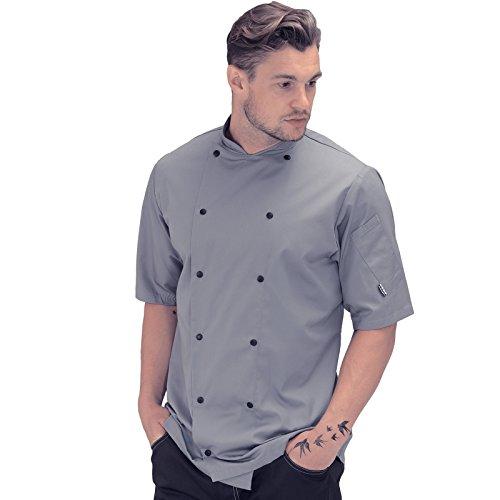 Denny 's de92es-l Le Chef Executive Köche S/S Jacke, Large, Griffin grau Executive Chefs Jacket