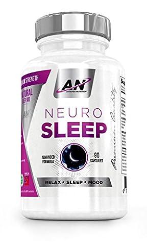 Sleeping Pills with 5-HTP & Natural Melatonin Sources, Magnesium, Chamomile,